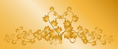 Decorative framework. Beautiful decorative framework from leaves for design Royalty Free Stock Image