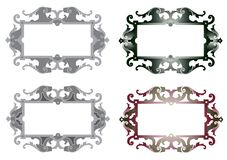 Decorative framework Royalty Free Stock Photos