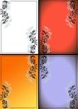 Decorative framework. A vegetative ornament, a pattern Stock Images
