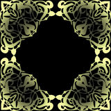 Decorative framework. Decorative pattern for a packing ornament Stock Images