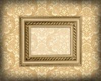 Decorative framework. On the renaissance background Stock Photos