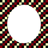 DECORATIVE FRAMEWORK. OF SQUARES.nABSTRAKT Stock Image
