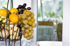 Decorative fruits Royalty Free Stock Photos