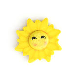 Decorative funny sun Stock Image