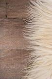 Decorative fur carpet Stock Image