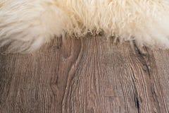 Decorative fur carpet Royalty Free Stock Photography