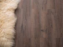 Decorative fur carpet Royalty Free Stock Image