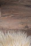 Decorative fur carpet Royalty Free Stock Photo