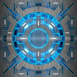Decorative futuristic color backgrounds. 3D illustration. Decorative futuristic color backgrounds. Art object. 3D illustration vector illustration