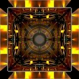 Decorative futuristic color backgrounds. 3D illustration. Decorative futuristic color backgrounds. Art object. 3D illustration stock illustration