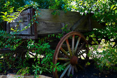 Decorative Garden Cart Royalty Free Stock Photography