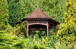 Decorative garden house Royalty Free Stock Photos