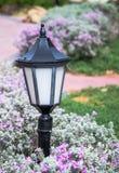 Decorative garden lantern Royalty Free Stock Photo