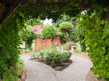 Decorative gardens Stock Photo