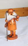 Decorative german christmas figure Stock Photography
