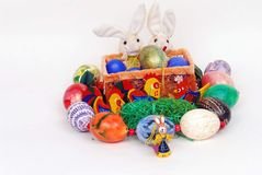 Decorative German Easter Decoration Stock Photography
