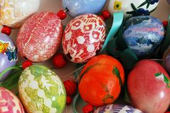 Decorative German Easter Decoration Royalty Free Stock Photography