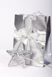 Decorative Gift Bag Royalty Free Stock Photos