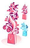 Decorative Gift Bag Vector Royalty Free Stock Image