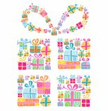 Decorative gift box Royalty Free Stock Images