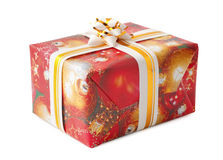 Decorative gift box Royalty Free Stock Image