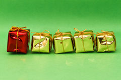 Decorative gift boxes Stock Photos