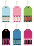 Decorative gift tags Stock Image