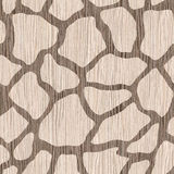 Decorative giraffe pattern - seamless background - wood texture Royalty Free Stock Photos