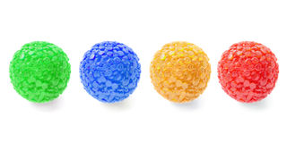 Decorative glass balls Royalty Free Stock Photography