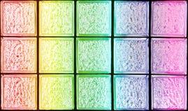 Decorative Glass Blocks Stock Photo