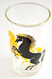 Decorative Glass/Horses royalty free stock photography