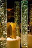 Decorative glass tubes Royalty Free Stock Photos