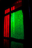 Decorative glass window. Stock Photography