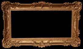Decorative Gold Frame Royalty Free Stock Photography