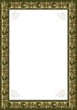 Decorative gold frame Stock Images