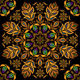 Decorative Gold Pattern Royalty Free Stock Images