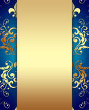Decorative Golden Background Royalty Free Stock Images