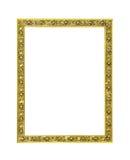 Decorative golden frame royalty free stock photo
