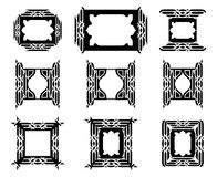 Decorative graphic frame Stock Images