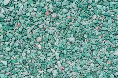 Decorative Gravel. A beautiful garden trend for decorative way and Beetgestaltung Stock Image