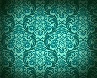 Decorative green background Stock Photo