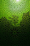 Decorative Green Panel Stock Photos