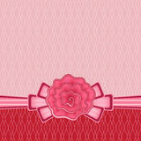 Rose bow background Royalty Free Stock Photos