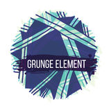 Decorative grunge abstract element Royalty Free Stock Images