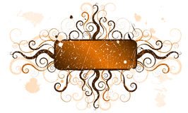 Decorative grunge frame Royalty Free Stock Image