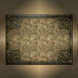 Decorative grunge frame background Stock Photography