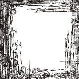Decorative grunge frame. Vector illustration  Royalty Free Stock Photography