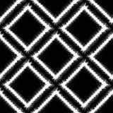Decorative Grunge White Frame Seamless Pattern Stock Photo