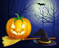 Decorative halloween celebrate background Royalty Free Stock Images