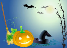 Decorative haloween celebrate background Stock Photos